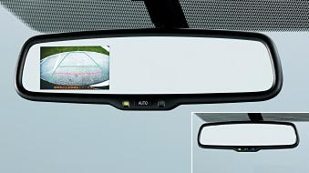 Auto Anti-glare Inner Mirror with Back Monitor US$ 470