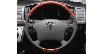 Wood-grained Steering Wheel US$ 440