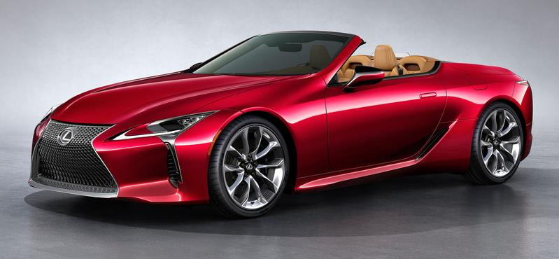 Lexus LC500 Convertible New 2021 model in Japan, import ...
