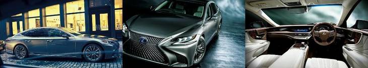 LEXUS LS500 HYBRID NEW MODEL