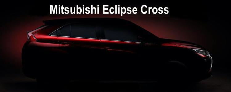 New Mitsubishi Eclipse Crossover 2018 model
