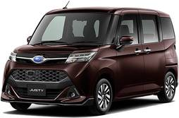 SUBARU JUSTY CUSTOM NEW MODEL