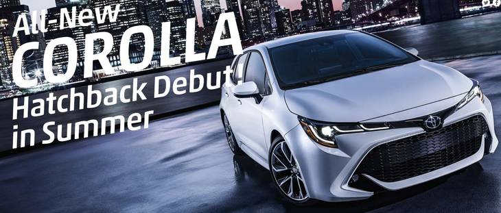 TOYOTA COROLLA HATCHBACK NEW MODEL