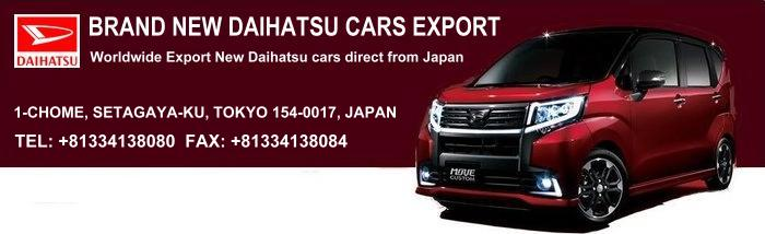 Daihatsu New Models In Japan Import Japanese New Car For