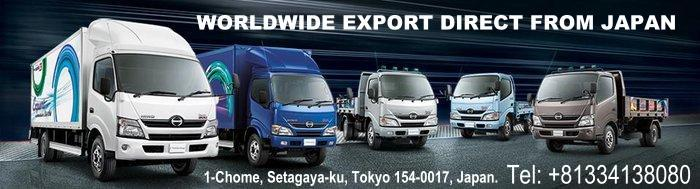 HINO NEW TRUCK AND BUSES IN JAPAN