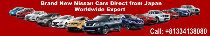 New Nissan Cars Exporter in Japan
