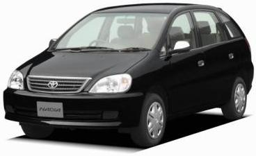 Toyota Nadia new 2007 model export from Japan