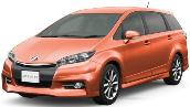 TOYOTA WISH NEW 2016-2017 MODEL