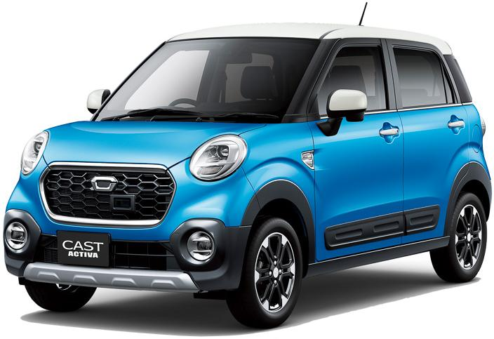 New Daihatsu Cast Active photo: Front picture