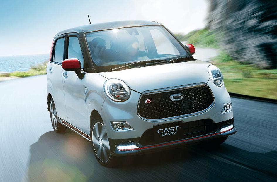 New Daihatsu Cast Sport photo: Front view