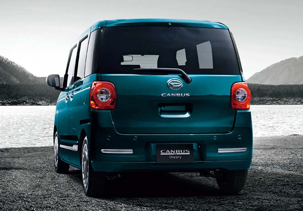 New Daihatsu Move Canbus photo: Back view