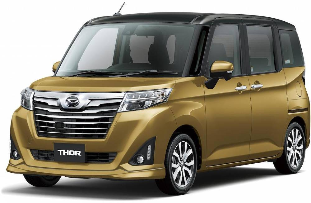 Japanese Automobile Manufacturers >> New Daihatsu Thor Custom Front photo, image, front view picture