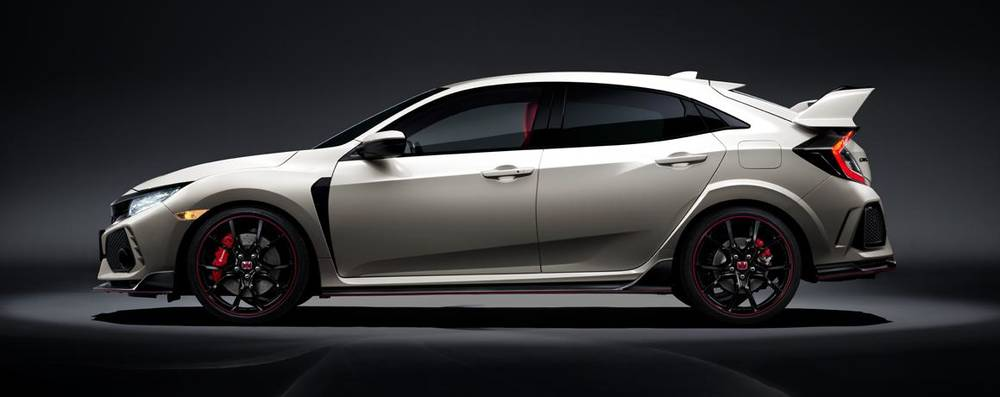New Honda Civic >> New Honda Civic Type R Side view picture, Side photo and Exterior image