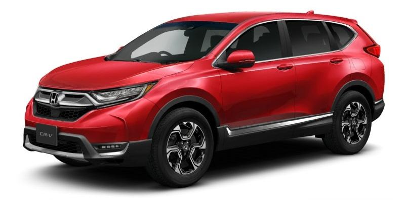 New Honda CRV photo: Front image
