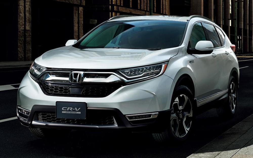 New Honda CRV Hybrid photo: Front image