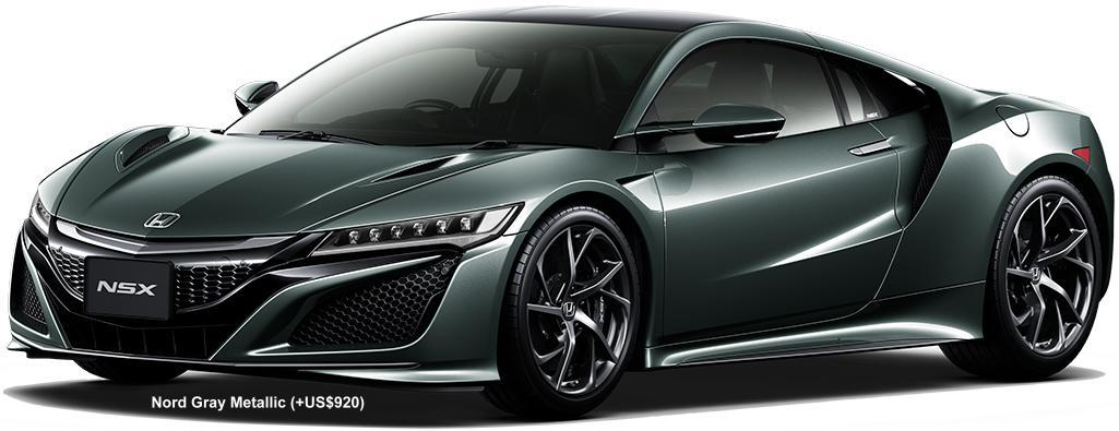 The Car Company >> New Honda NSX Body colors photo, Exterior colour picture, color image