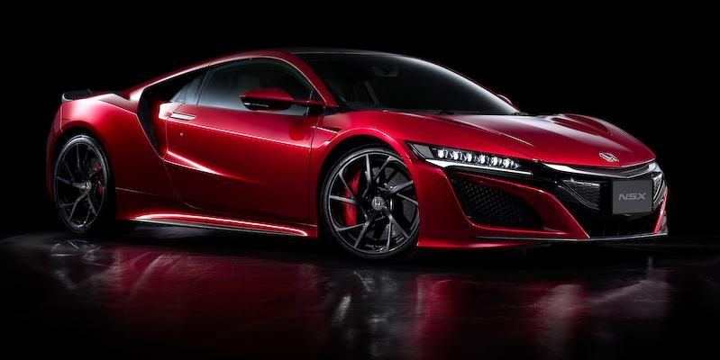 New Honda NSX photo: Front view 3