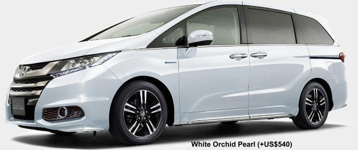 New Honda Odyssey Absolute Hybrid Body color photo, Exterior colour picture, colors image