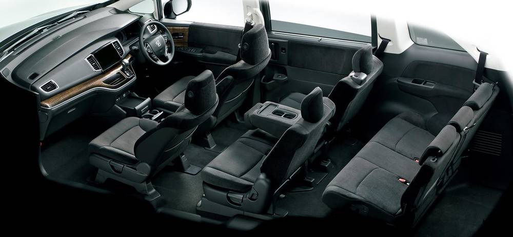 New Honda Odyssey Absolute Interior Picture Inside View