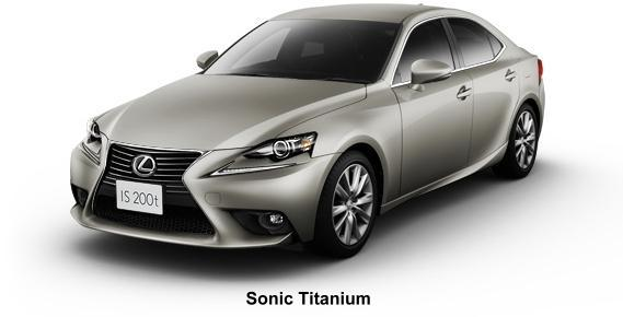 The Car Company >> New Lexus IS200t Body color photo, Exterior colour picture ...