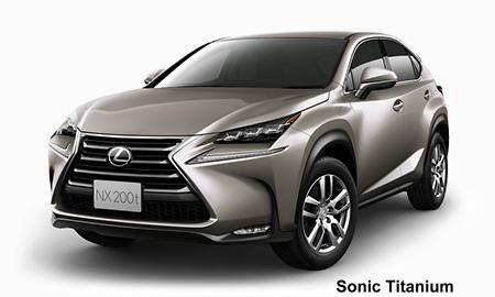 New Lexus NX200t Body color photo, Exterior colour picture ...