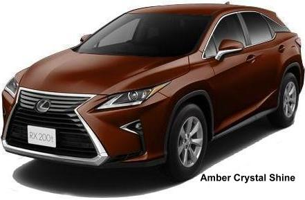 New Lexus Rx200t Body Color Photo Exterior Colour Picture Colors Image