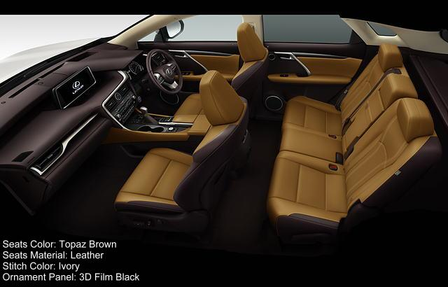 new lexus rx200t interior color photo image seat colour picture. Black Bedroom Furniture Sets. Home Design Ideas