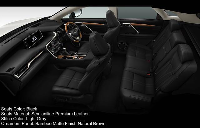 new lexus rx200t version l interior color photo image seat colour picture. Black Bedroom Furniture Sets. Home Design Ideas