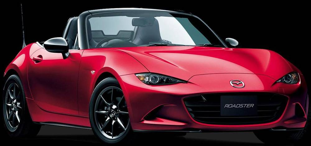 New Mazda Roadster photo: Front view