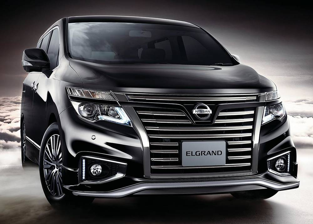 New Nissan Elgrand photo: Front view 3