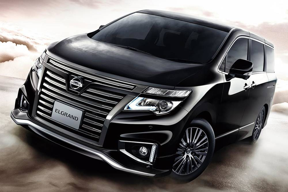 New Nissan Elgrand photo: Front view 4