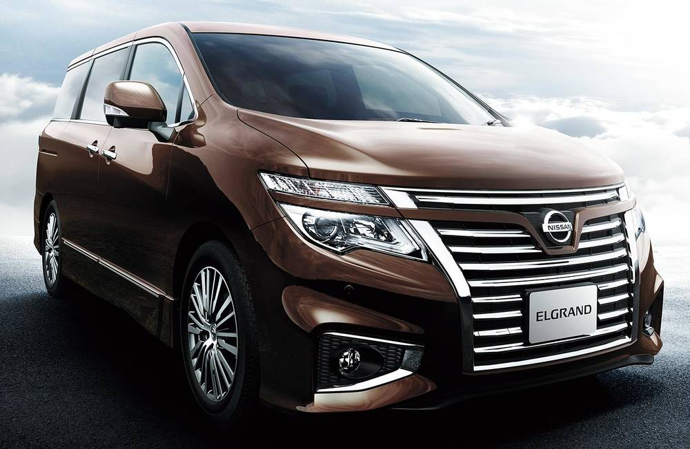 New Nissan Elgrand photo: Front view 5