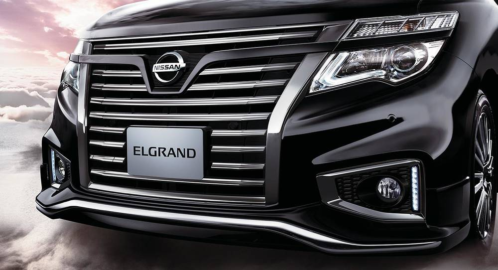 New Nissan Elgrand photo: Front image 6
