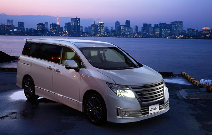 New Nissan Elgrand photo: Rider front image 2