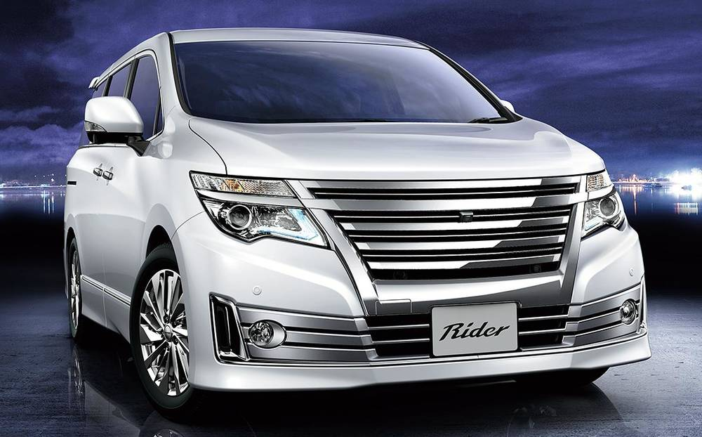 New Nissan Elgrand photo: Rider front image 4