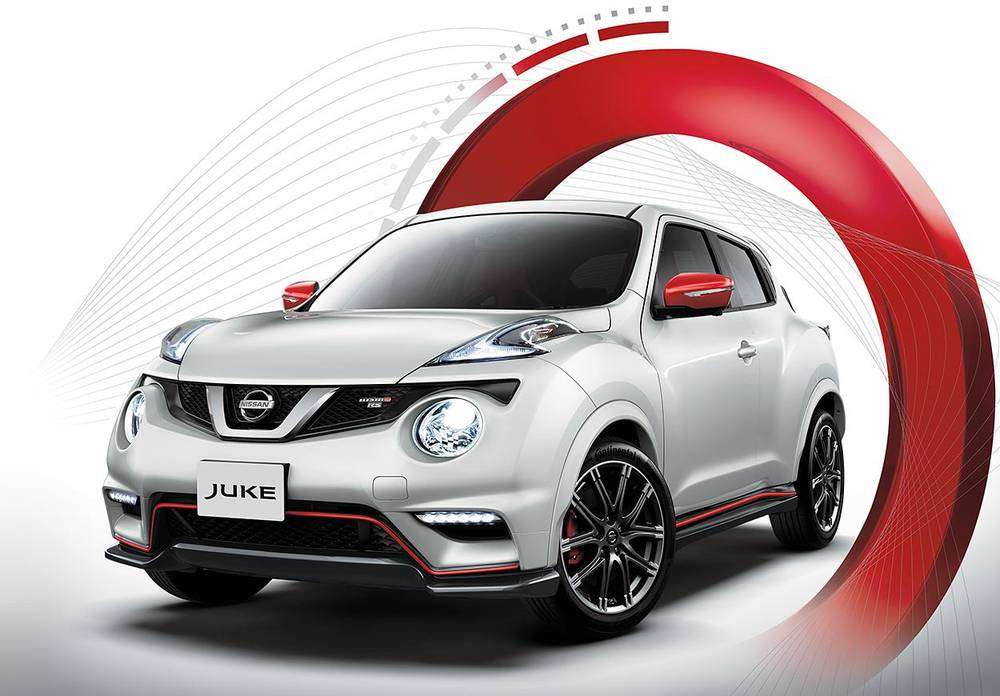New Nissan Nismo RS : Front view