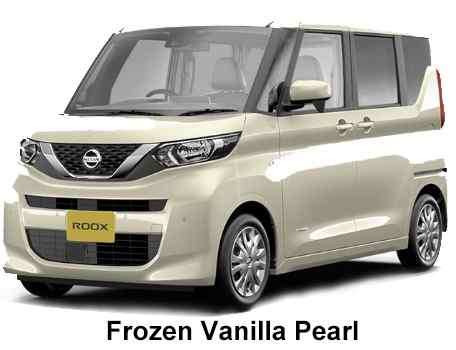 New Nissan Roox body color: FROZEN VANILLA PEARL
