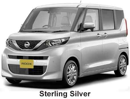 New Nissan Roox body color: STERLING SILVER
