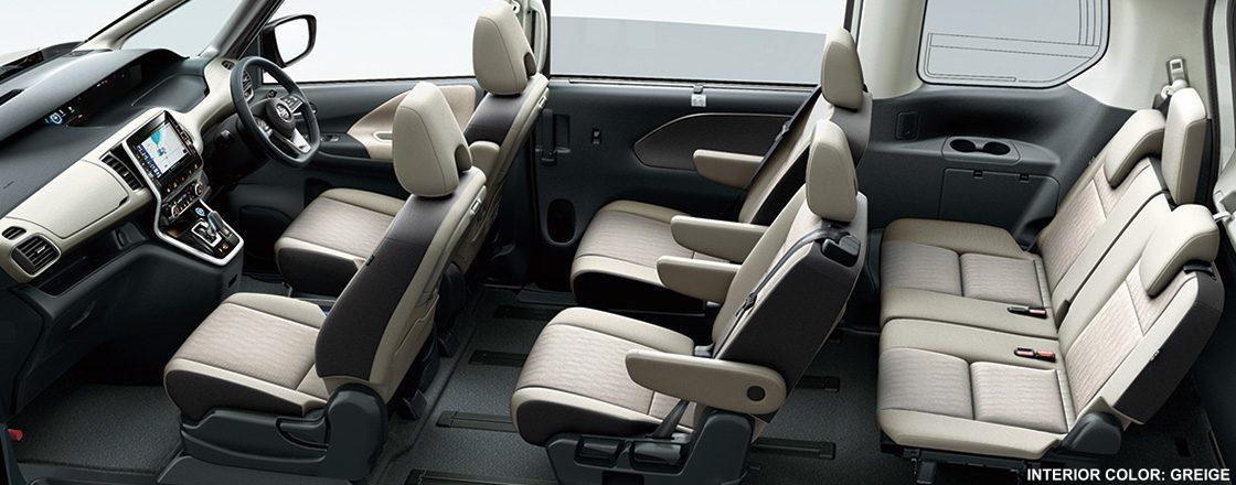 New Nissan Serena e-Power Highway Star Interior picture ...