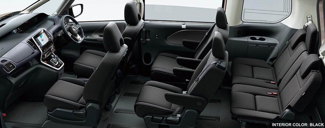 New Nissan Serena E Power Interior Picture Inside View