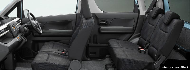 Wagonrhybrid Interior Black