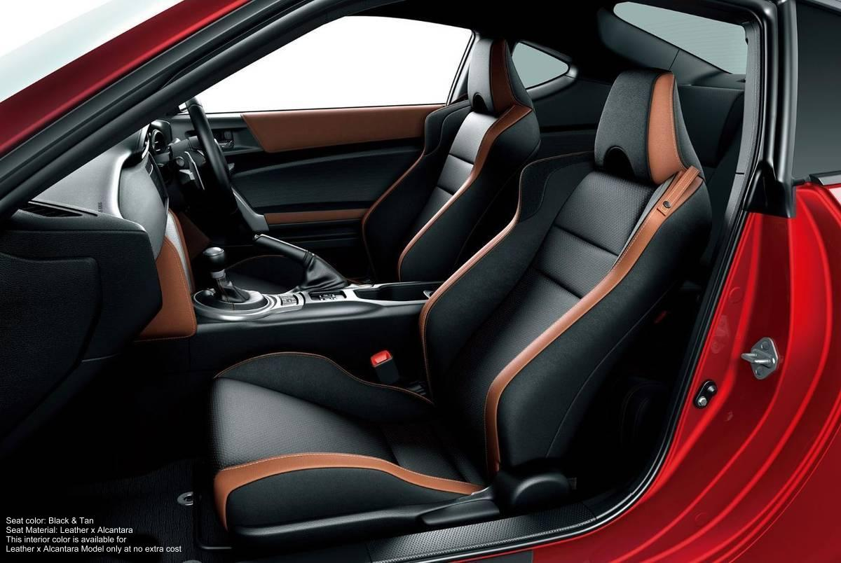 new toyota 86 interior picture inside view photo and seats image. Black Bedroom Furniture Sets. Home Design Ideas