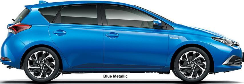 Toyota Hybrid New Car >> New Toyota Auris Hybrid Body colors, Full variation of exterior colours selection