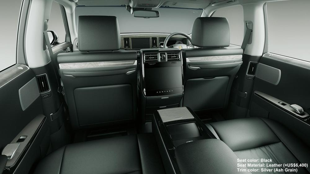 New Toyota Century Picture Interior Colors Seat Colours