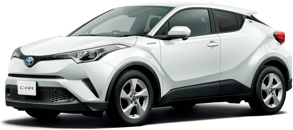 New Toyota CHR photo: Exterior view