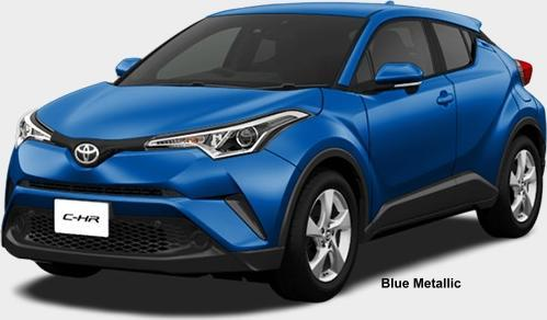 New Toyota C Hr Hybrid Body Colors Photo Exterior Chr