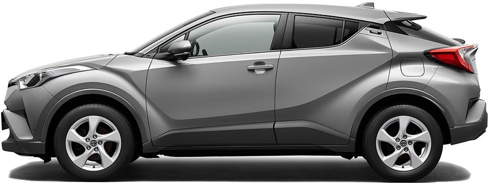 New Toyota CHR photo: Side view