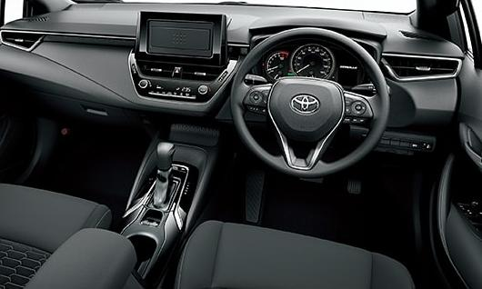 New Toyota Corolla Sport Hybrid pictures, Front photo and ...