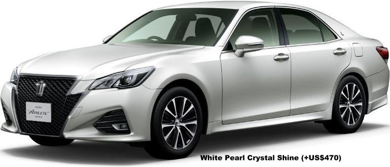 Buy A Toyota >> New Toyota Crown Athlete Body colors, Full variation of exterior colours selection