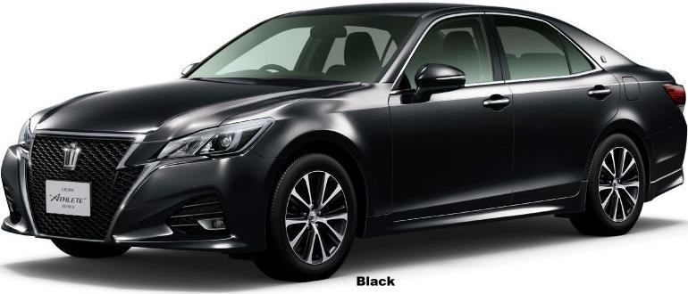 New Toyota Crown Athlete Body Colors Full Variation Of